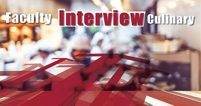 Faculty culinary interview by Pickens technical college